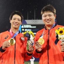 東京五輪MVPは侍ジャパン山田哲人 準決勝V打など打率.350、7打点、3盗塁