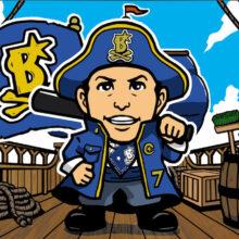 DB海賊団キャラクター画像(全13種類)