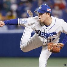 中日の柳が147球の熱投で完封勝利!平松氏「球種を絞りきれないピッチング」