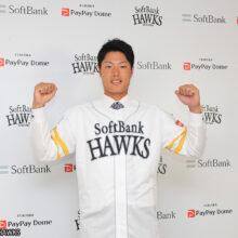 ソフトバンクが高卒3年目の渡邉陸を支配下選手登録!三笠GM「高い打撃力を評価して」
