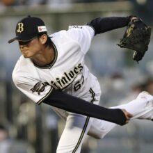 首位攻防戦で好投したオリックス山崎颯一郎に平松氏も絶賛「すごい球を投げていた」