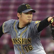 阪神・西勇輝、5回1失点で通算100勝達成 今季5勝目、オリックスで74勝
