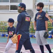 【城東ベースボールクラブ】日本一3度の監督を招いて行われた練習