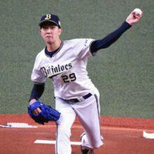 オリックス・田嶋「入り方が良くなかった」先頭打者の出塁に苦しみ8敗目