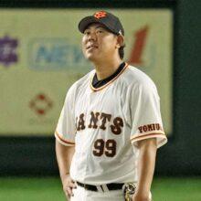 巨人・山口が9試合勝ちなく7敗目… 田尾氏「原監督も我慢できなかったと思う」