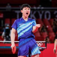 卓球の張本智和が10月2日に始球式 地元仙台で3度目「日本一を祈願」