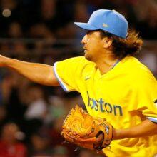 澤村拓一、渡米後最長の2回1/3を無失点 PS争う宿敵ヤンキース戦で力投