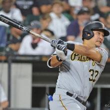 パイレーツ筒香は「6番・指名打者」で二塁打放ち4打数1安打