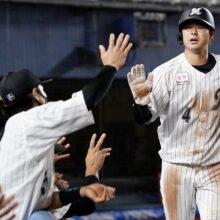 ロッテ・藤岡が語った打撃好調の要因、三塁の守備、優勝への思い
