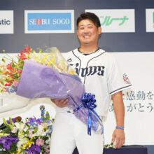 【全文】西武・松坂大輔が引退会見 家族への思い、野球人生を振り返る